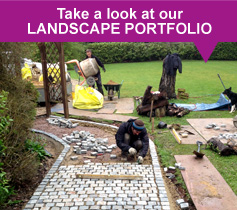 Take a look at our Landscape Portfolio